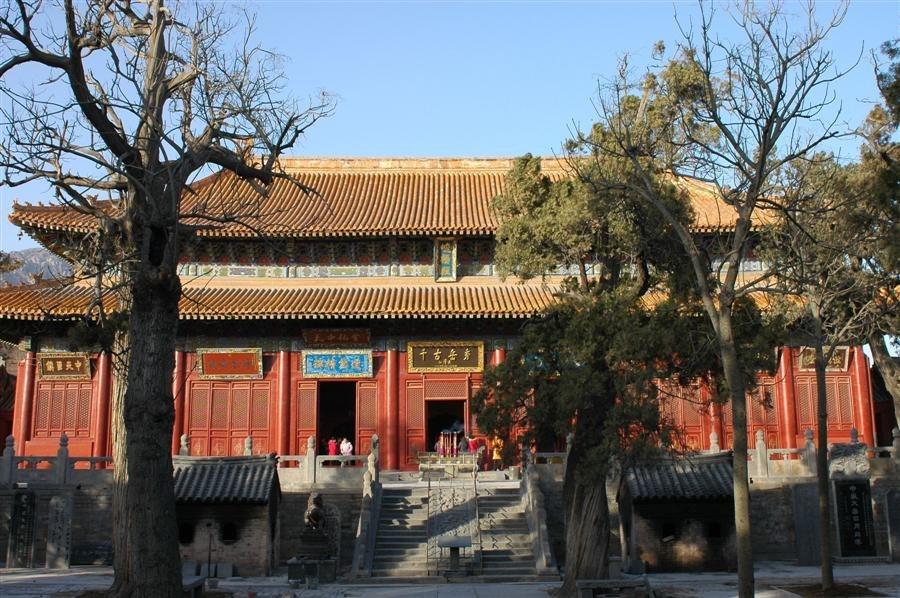 The Daoist Zhongyue Temple