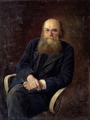 Nikolai Zlatovratsky - Portrait by Nikolai Grandkovsky (1894)