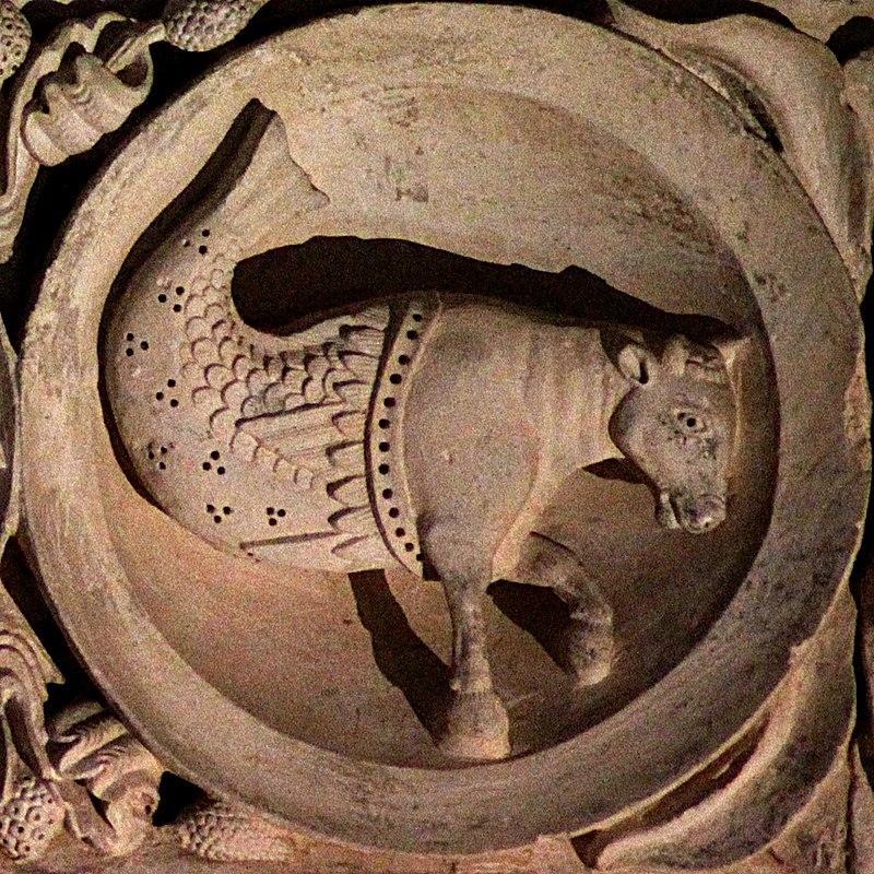 Zodiaque Vezelay 08 - Taurus.jpg