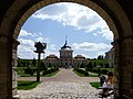 Zolochiv Lvivska-Castle-view from entrance.jpg