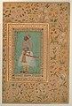 """""""Portrait of Maharaja Bhim Kanwar"""", Folio from the Shah Jahan Album MET DP240814.jpg"""