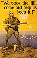 """""""We took the Hill, come and help us keep it!"""" - Harry J. Weston. LCCN2004666247 (cropped).jpg"""