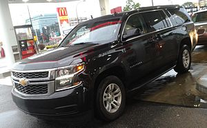 GMT K2XX - Image: '15 Chevrolet Suburban