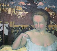 'Portrait of Marthe Denis, the Artist's Wife' by Maurice Denis.JPG
