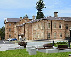 Prince of Wales Hospital (Sydney) - Edmund Blacket building at the hospital