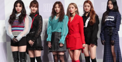 (G)I-DLE at 'Latata' Showcase Photo Time on May 2, 2018 (4).png