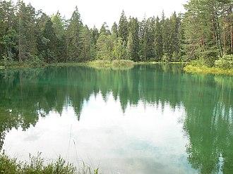 Äntu - Äntu Sinijärv (Äntu Blue Lake)