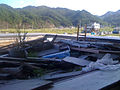 Ōtsuchi - 20120901, view from inside the fire station.jpg