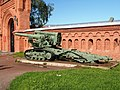 Б-4, 203-мм мортира образца 1931 года, Artillery museum, Saint-Petersburg pic2.jpg