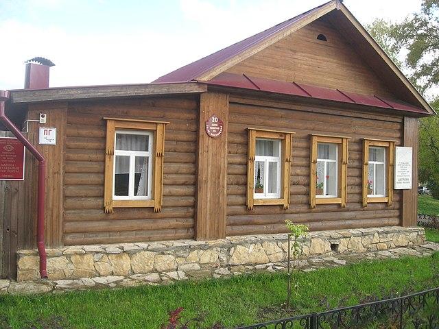 Дом Бродельщиковых в Елабуге, где ушла из жизни Марина Цветаева