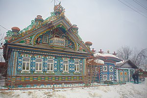 Kirillov's house - Kirillov's house in winter