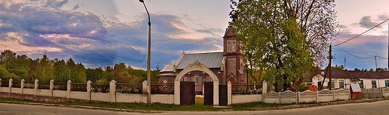 Костьол Св. Антонія, смт. Городниця (автор фото Bilenyka, вільна ліцензія cc by-sa 4.0)