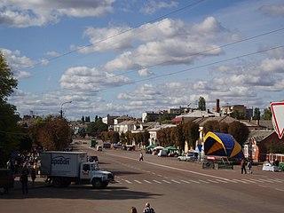 Korosten City of regional significance in Ukraine