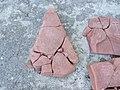 Петрыкаў. Мікалаеўская царква. Разбіты камень (07).jpg