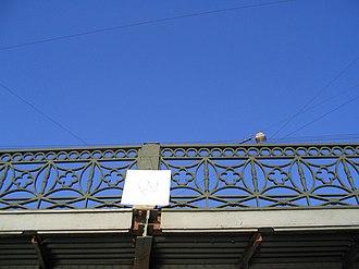 Potseluev Bridge - Image: Поцелуев мост 2006