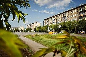 Tatarsk, Novosibirsk Oblast - Lenina Street in Tatarsk
