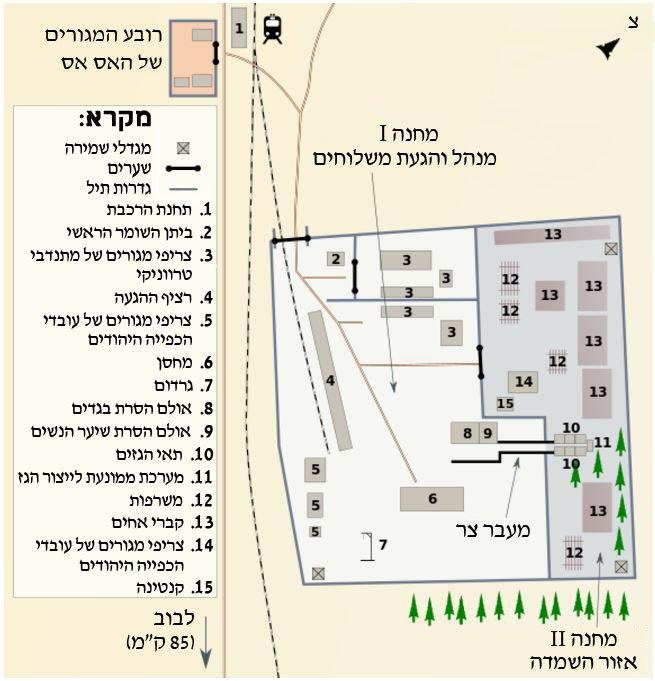 מפת בלזץ עברית