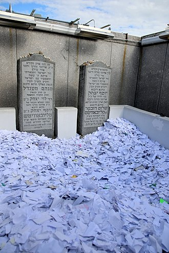 Menachem Mendel Schneerson - The Rebbe's Tomb: Schneerson's burial place next to his father-in-law and predecessor in Queens, New York.