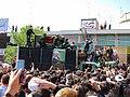 تشییع جنازه آیت الله محمد تقی بهجت در قم Burials in Iran Grand Ayatollah Mohammad Taqi Bahjat Foumani 07.jpg