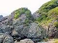 太平洋にせり出した紀伊半島先端の岩 - panoramio.jpg
