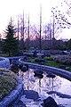 薄暮の七北田公園 Gloaming at Nanakita Park - panoramio.jpg