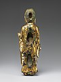 금동여래입상 통일신라 -金銅如來立像 統一新羅-Standing Buddha MET DP253261.jpg