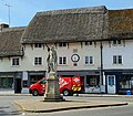-2021-06-15 King Alfred statue, Market Place, Pewsey, Wiltshire.jpg