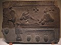 0025 - 0220 Brick Relief with Wine-brewing Scene Eastern Han Dynasty National Museum of China anagoria.jpg