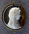 013, arte ellenistica, testa di regina, forse arsinoe, calcedonio, con restauri del xvi sec.jpg