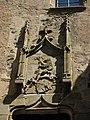 013 Castell de Púbol (Casa Museu Gala Dalí), escut dels senyors de Púbol.jpg