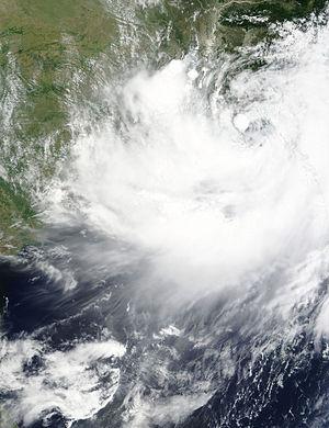 Cyclone Komen - Image: 02B 2015 07 29 0500Z