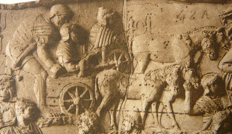 031 Conrad Cichorius, Die Reliefs der Traianssäule, Tafel XXXI (Ausschnitt 01)