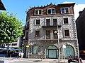 032 Antiga Clínica Vilanova, façana pl. Príncep Benlloch (Andorra la Vella).JPG