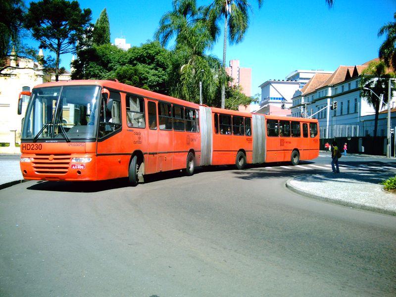 Linhas de ônibus em Curitiba