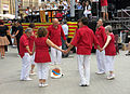079 Sardanes a la plaça Major (Llançà).JPG