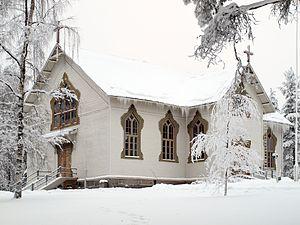 Jämsä - Image: 086 1173114 620 Koskenpaan kirkko
