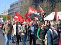 1. Mai 2013 in Hannover. Gute Arbeit. Sichere Rente. Soziales Europa. Umzug vom Freizeitheim Linden zum Klagesmarkt. Menschen und Aktivitäten (181).jpg