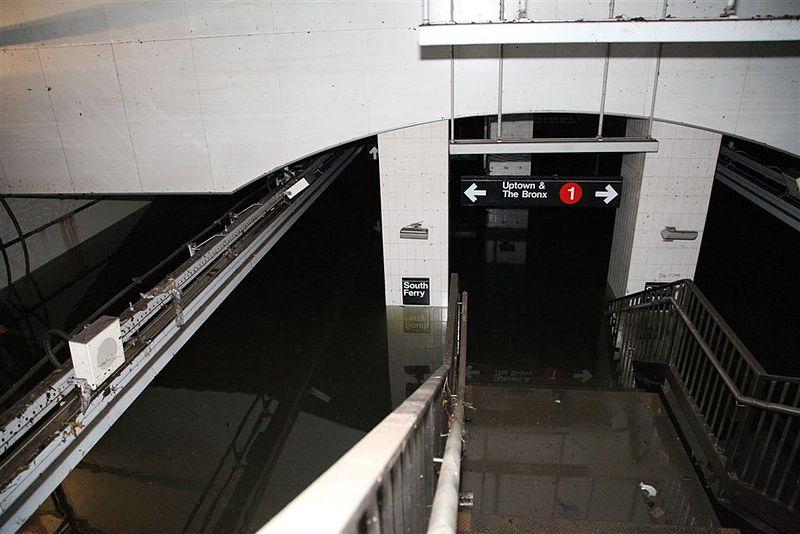 Subway Flooded