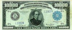 billet de 10 000 dollars canadien
