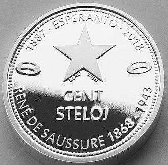 Stelo - Image: 100 Steloj 2018 Averso