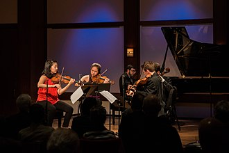 Chamber Music Society of Lincoln Center - Chamber Music Society artists performing in the Daniel and Joanna S. Rose Studio.