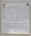 102 Lajos Street, plaque (1976), 2020 Óbuda.jpg