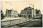 10611-Coswig-1909-Post, Bahnhof-Brück & Sohn Kunstverlag.jpg