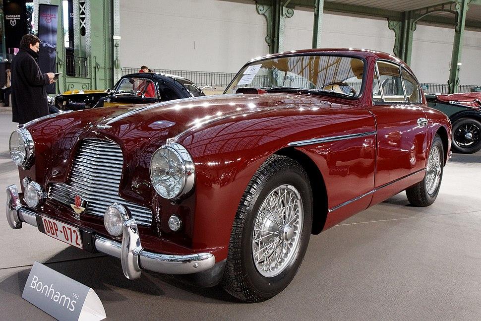 110 ans de l'automobile au Grand Palais - Aston Martin DB2 4 3.0-Litre Sports Saloon - 1955 - 001