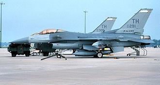 181st Intelligence Wing - F-16C Block 25E Fighting Falcons, 1990.