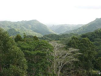 Escambray Mountains - Image: 11 Sierra Escambray VC