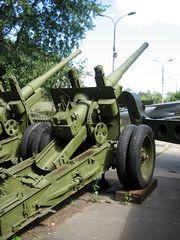 122mm m1931-37 gun Moskow Military Museum 1
