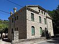 124 Xalet de Sant Jordi, barri del Balneari (Vallfogona de Riucorb), angle sud-oest.jpg