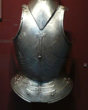 Gothic Breastplate, late 1400s, steel, from It...