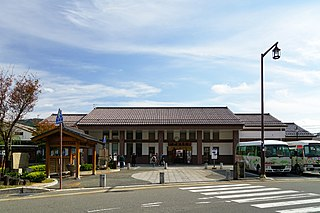 Kinosaki Onsen Station Railway station in Toyooka, Hyōgo Prefecture, Japan